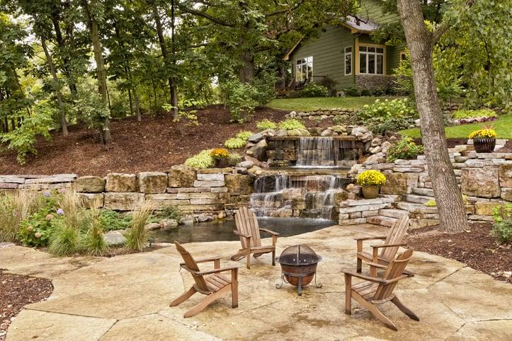 Backyard Setting