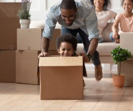 Your First Day in Your New Place