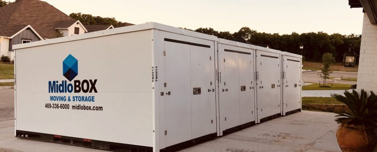 How a Portable Storage Container Makes Moving Easier